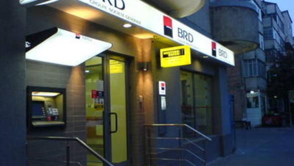 Profitul BRD a scazut cu 7% in 2011, la 465 milioane lei