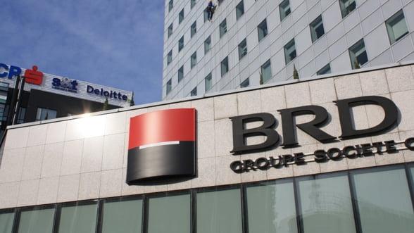 Profitul BRD a scazut cu 84% fata de primul trimestru din 2012