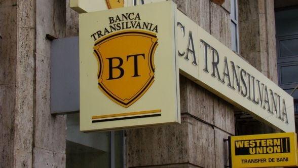 Profitul Bancii Transilvania a stagnat in prima jumatate a anului