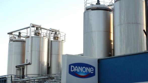 Profitul Danone a scazut in 2013 cu 10%