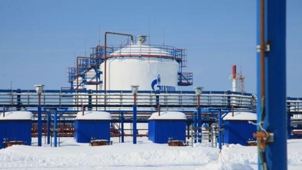 Profitul Gazprom a scazut cu 10% in 2012 pana la 38 de miliarde de dolari
