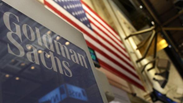 Profitul Goldman Sachs a scazut cu 58%