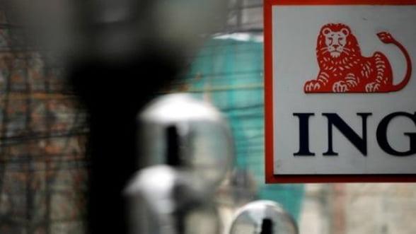 Profitul ING Bank creste cu 44% intr-un an cu pierderi record pentru piata