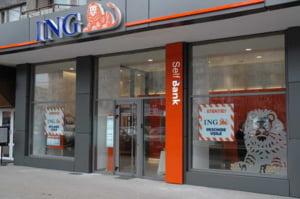 Profitul ING pe al doilea trimestru a scazut cu 25%, pe fondul crizei creditelor