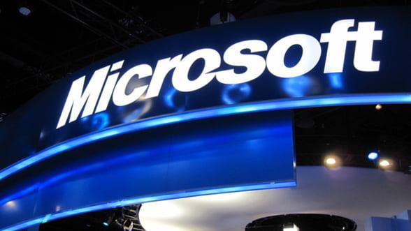 Profitul Microsoft a crescut cu 19% in ianuarie - martie 2013