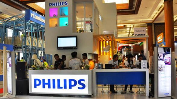 Profitul Phillips, in crestere 80% in T1 din 2012