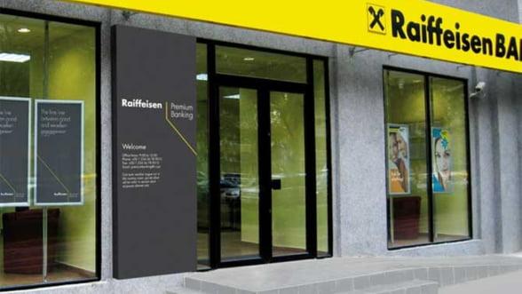 Profitul Raiffeisen Bank a crescut cu 16% in 2011