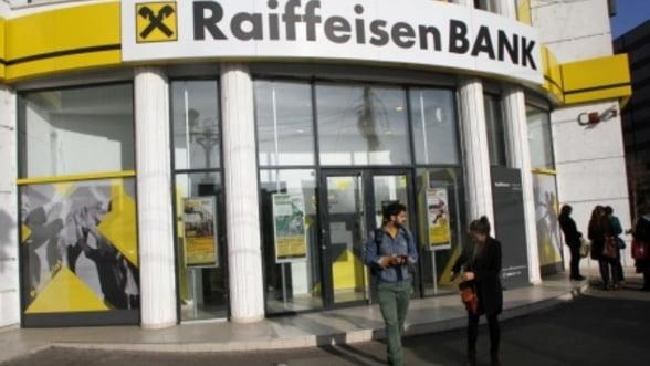 Profitul Raiffeisen Bank in Romania a crescut cu 16% in 2013