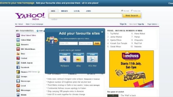Profitul Yahoo a crescut cu 46% in trimestrul doi