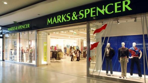 Profiturile Marks and Spencer scad din cauza taierilor de preturi
