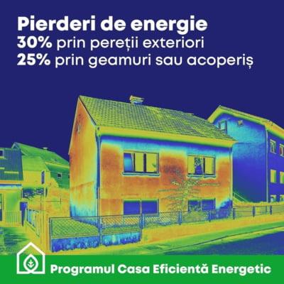 """Programul """"Casa Eficienta Energetic"""", accesat de peste 6.650 de romani pana in prezent"""