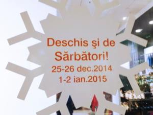 Programul de Craciun si de Revelion al bancilor, supermarketurilor si mall-urilor