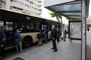 Proiect pilot: De la 1 iulie, autobuzele din Bucuresti vor circula si pe linia de tramvai