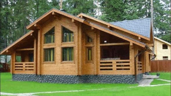 Proiecte de arhitectura si design modern pentru casele din lemn expuse de profesionistii Litarh