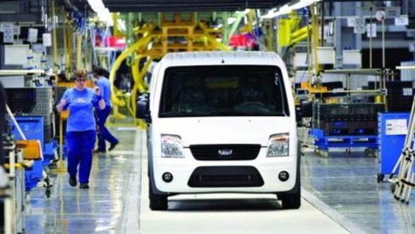 Proiectul Ford de la Craiova s-a extins pana la sfarsitul lui 2012