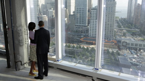 Promisiunea lui Obama la noul World Trade Center (Galerie foto)