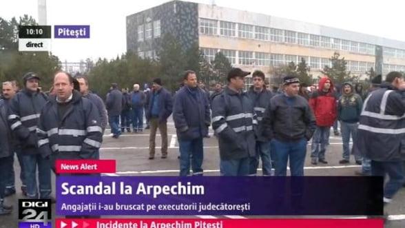 Proteste la Arpechim, din cauza licitatiei Oltchim