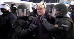 Proteste violente fata de extrema dreapta in Germania - 400 de persoane au fost arestate