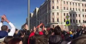 Protestele din Rusia produc scurtcircuit in politica moldoveneasca