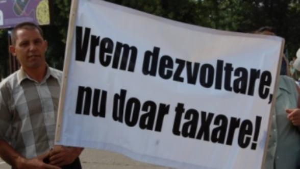 Protestul agricultorilor s-a incheiat: Nu au obtinut nicio promisiune din partea Guvernului