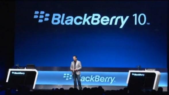 Prototipul BlackBerry 10 apare in curand