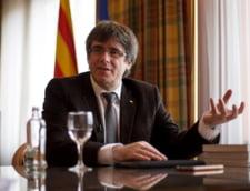 Puigdemont a scapat de retinere si a fost propus pentru functia de premier al Cataloniei