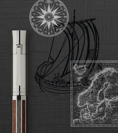 Pune mana pe stiloul de lux al anului: Viking, de la Graf von Faber-Castell