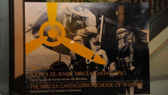 Pune pe raft inca o carte de istorie: Scoala de aviatie Mircea Cantacuzino