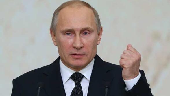 Putin: Ucraina nu era decat un pretext pentru sanctiuni, Occidentul voia sa franeze Rusia