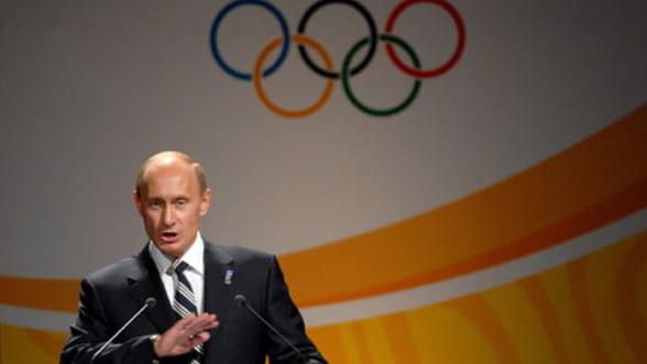 Putin ar fi deturnat 23 de miliarde de euro destinate Jocurilor Olimpice