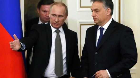 Putin joaca tare la Budapesta: Vrea sa-i momeasca pe unguri cu gaze ieftine