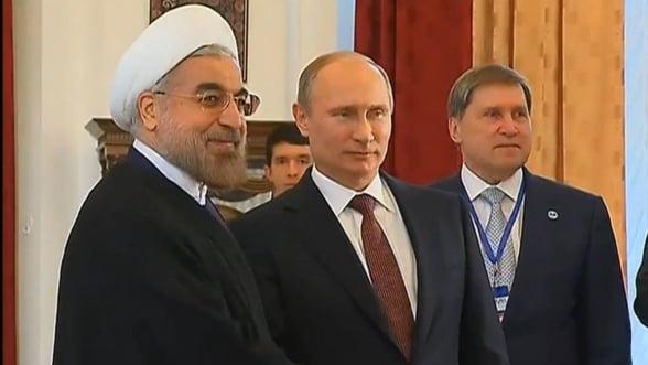 Putin joaca tare la Teheran - infunda Rusia in criza, de dragul aliantei cu Iranul