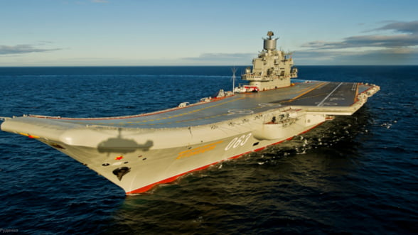 Putin joaca tare si trimite la lupta singurul portavion al Rusiei. Daca nu se scufunda pe drum