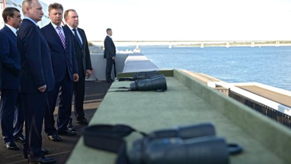 Putin le-a dat alarma fortelor aeriene, pentru a le verifica reactia in conditii de lupta