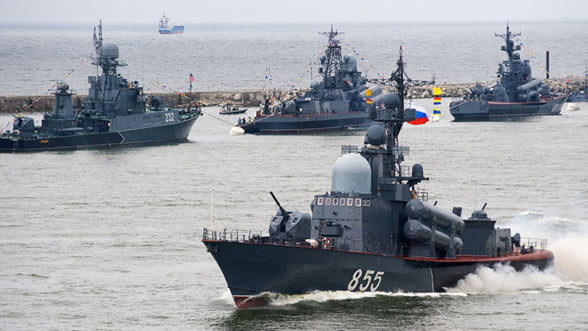 Putin muta provocator in Marea Baltica. A trimis 50 de nave de razboi in Kaliningrad