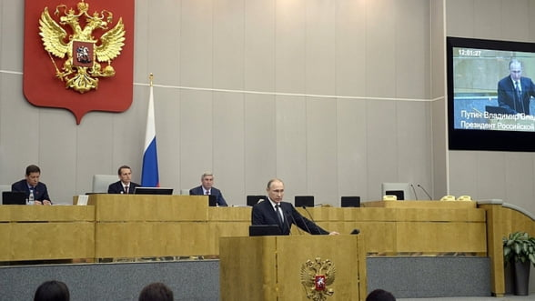 Putin pregateste Rusia de razboi: Trebuie sa crestem capacitatea de lupta a tarii