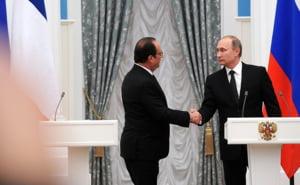 Putin si Hollande, intalnire cruciala: Ce au decis si unde nu s-au inteles