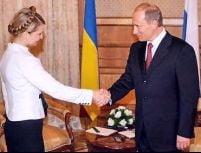 Putin si Timosenko au incheiat un preacord in domeniul gazului