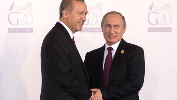 Putin vrea sa doboare avioanele Turciei care intra in Siria: Sa vedem daca mai zboara pe-acolo!