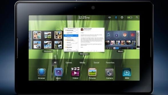 RIM lanseaza o noua tableta PlayBook cu SIM