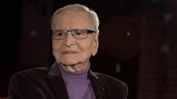 """Radu Beligan intra in Cartea Recordurilor: """"Sunt rezultatul iubirii pe care publicul mi-a aratat-o, ii datorez totul"""""""