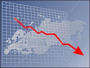Raiffeisen: Economia Romaniei a scazut cu 7,5% in T2