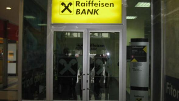 Raiffeisen Bank si-a dublat profitul in T1