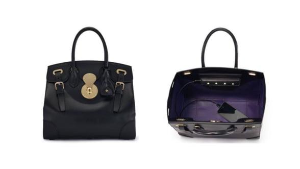 Ralph Lauren ti-a pregatit geanta cu incarcator si LED-uri pe interior