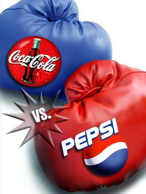 Razboiul Coca-Cola vs Pepsi continua