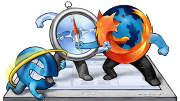 Razboiul browser-elor de Internet: Chrome e lider in Europa