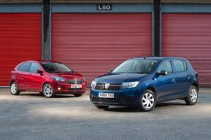 Razboiul de la clasa mica: Vezi ce-au ales englezii intre Dacia Sandero si Ford Ka