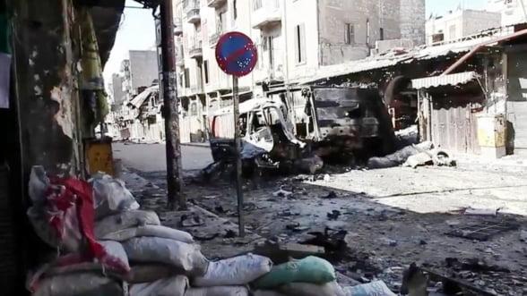 Razboiul din Siria, in cifre: Ce-i alunga pe oameni din casele lor
