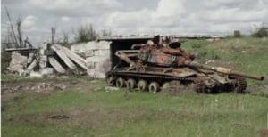 Razboiul nu s-a oprit in Ucraina: Mii de civili dintr-un oras distrus de bombe asteapta sa fie evacuati