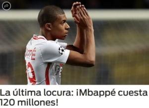 Real Madrid, dispusa sa doboare recordul pentru cel mai scump transfer din lume: 120 de milioane de euro